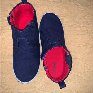 Toddler Boy - Blue 🔵 Suede Shoe 👟